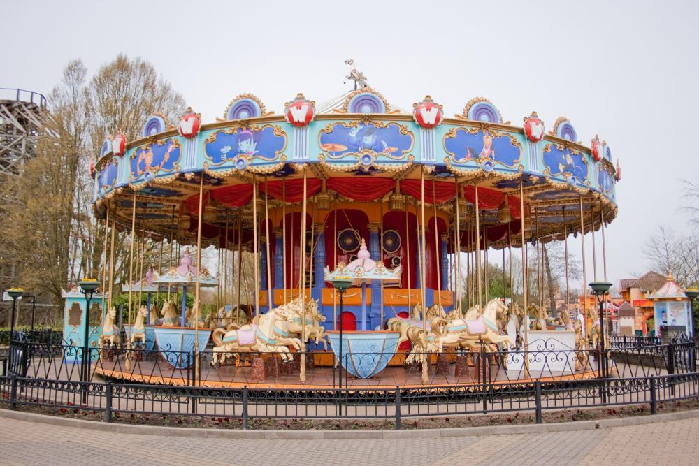 De Carrousel met (jullie) werkplek