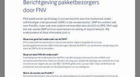 Update CAO problematiek versus gemaakte afspraken met FNV